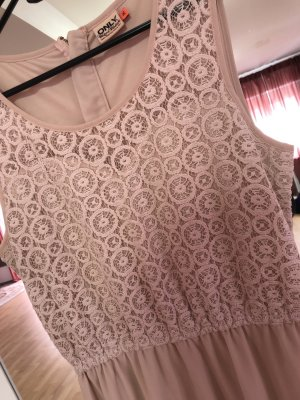 Only Robe longue rosé-rose clair