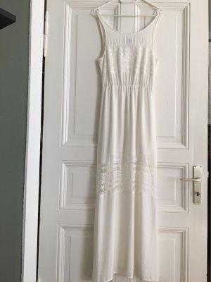 H&M Divided Maxi Dress white-natural white