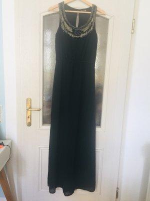 Danity Maxi-jurk zwart-goud