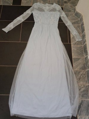 Vila Evening Dress baby blue-azure
