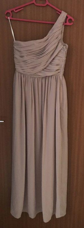 Maxikleid Abendkleid H&M Kleid Rosé rosa altrosa Gr. 34 36 S neu