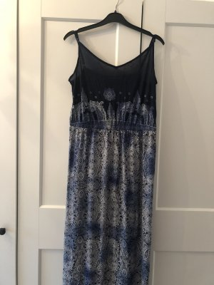 Blue Motion Maxi Dress multicolored