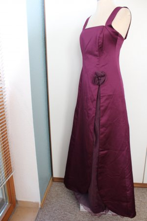 Maxikleid bordeaux Gr. 38 Satin Sixth Sense