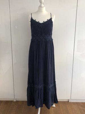 Hallhuber Maxi Dress dark blue