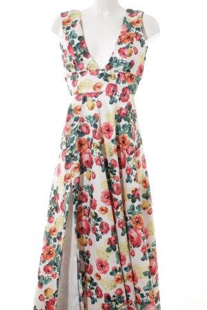 Maxikleid florales Muster Romantik-Look