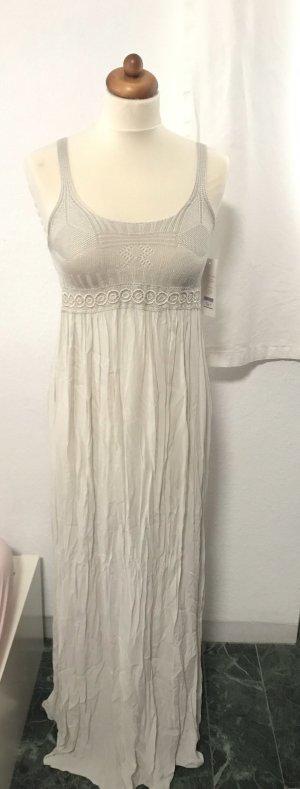 Maxi-jurk licht beige-room