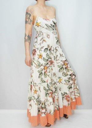 Maxikleid Gr. 34-36 Rüschenkleid Kleid Sommerkleid
