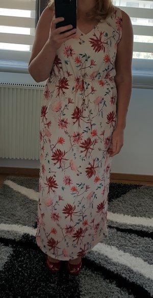 MaxiKleid gr. 40 L Only farbig langes Kleid Sommerkleid Blumenprint Blumenkleid