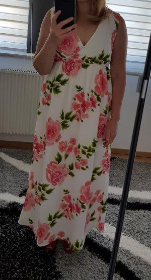 MaxiKleid gr. 40 L Vero Moda farbig langes Kleid Sommerkleid NEU Blumenprint