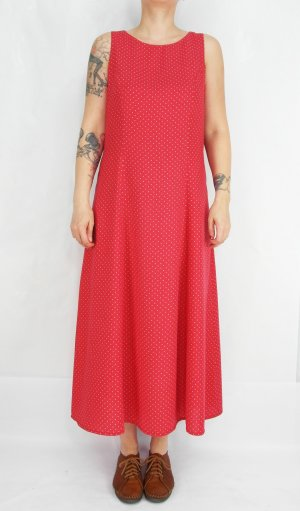Maxikleid Gr. S Punktekleid Kleid