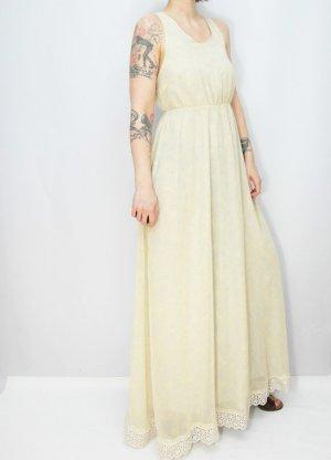 Maxikleid Gr. S Rüschenkleid Kleid