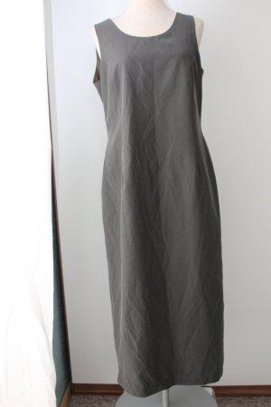 Maxikleid Herbstkleid Etuikleid grau Gr. 14