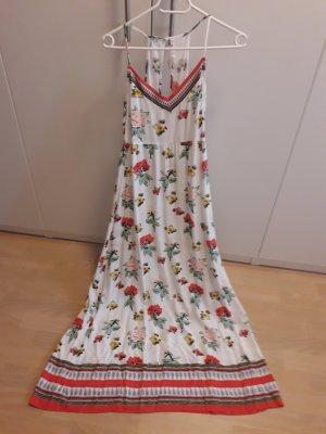 Maxikleid Kleid Coachella Hippiekleid Blumenkleid
