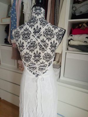 Maxikleid Langes Kleid Sommer Hippie Rückenausschnitt Rückenfrei Festival Ibiza M 38 Asos