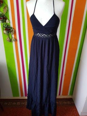 Maxikleid, Maxi Langes Kleid Only Sommerkleid Gr. 34 (XS passt auch Gr. 36 /S ) NEU marine