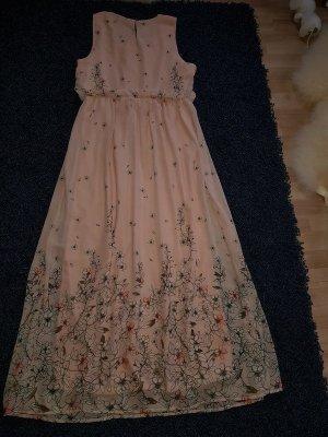 Maxikleid, Maxi Langes Kleid Vero Moda Sommerkleid Gr. L (40) Blumen Print Neu