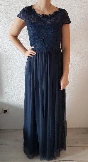 Vila Maxi-jurk donkerblauw-blauw