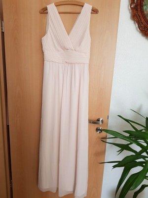 Maxikleid, Maxi Langes Kleid Vila Sommerkleid Gr. 42 (L/XL) € 65,- Neu peach Blush creme