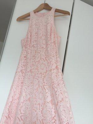 Maxikleid Midikleid Kleid rosa Spitze von Whistels - neuwertig