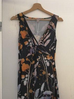 Anna Field Maxi abito nero-arancione