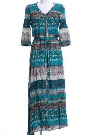 Maxi-jurk Patroon-mengeling Boho uitstraling