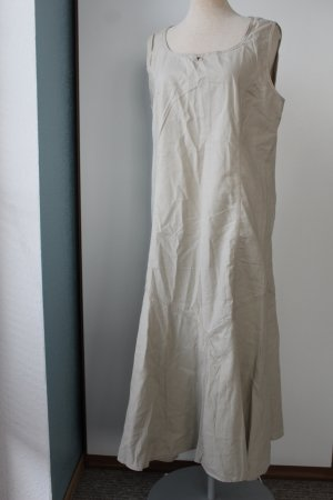 Maxikleid naturfarben beige creme wollweiß Debenhams Gr. UK 14 EUR 42 L