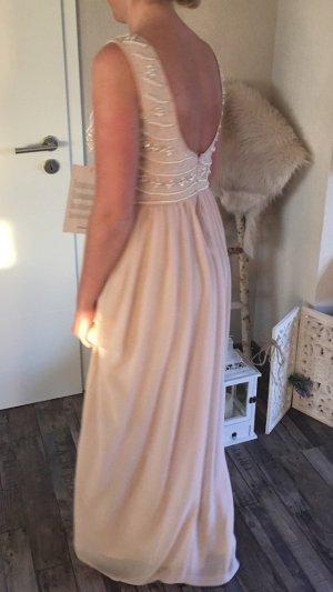 Barbara Schwarzer Vestido largo rosa empolvado