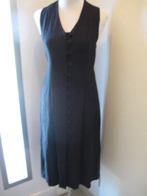 C&A Vestido largo negro Viscosa