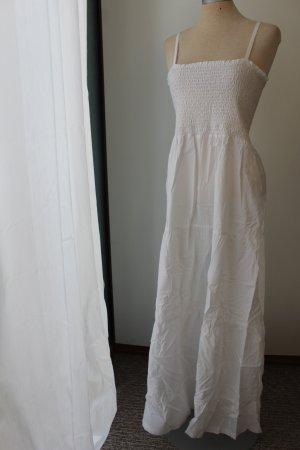 Vestido largo blanco Algodón