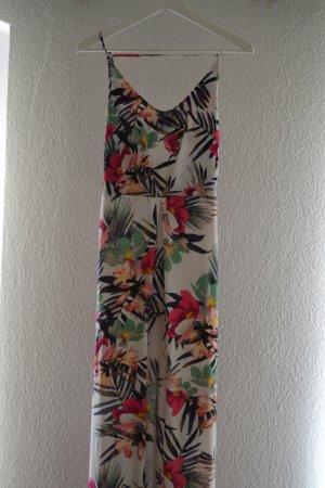 Maxikleid Standkleid Sommerkleid Blumen Chiffon H&M