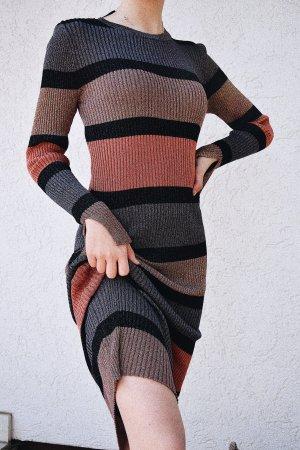 Zara Vestido largo multicolor