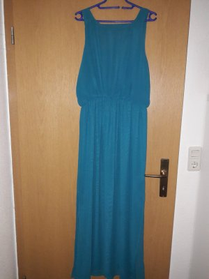 Zara Maxi Dress turquoise polyester