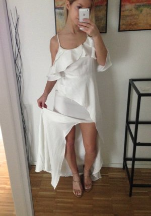 Maxikleid Weiß XS 34 Hochzeitskleid Braut Lang Asos Bride Wedding