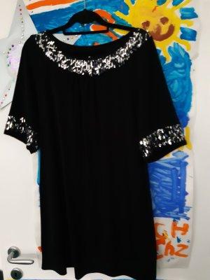 Maxima Fashion Vestido tipo túnica negro