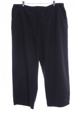 Maxime 3/4 Length Trousers black casual look