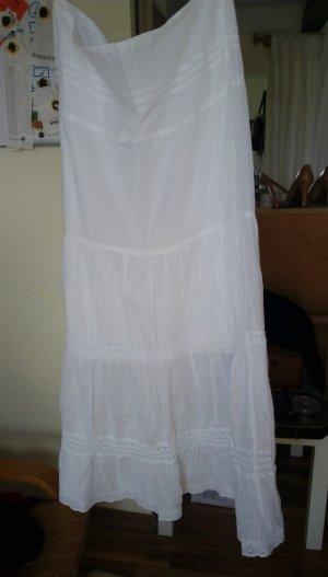 Amisu Falda larga blanco