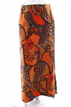 Maxi Skirt abstract pattern extravagant style