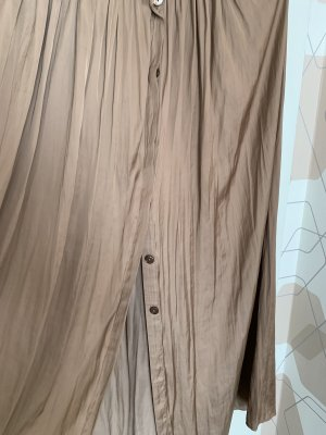 Massimo Dutti Maxi Skirt beige-camel