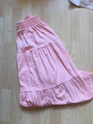 Falda larga multicolor