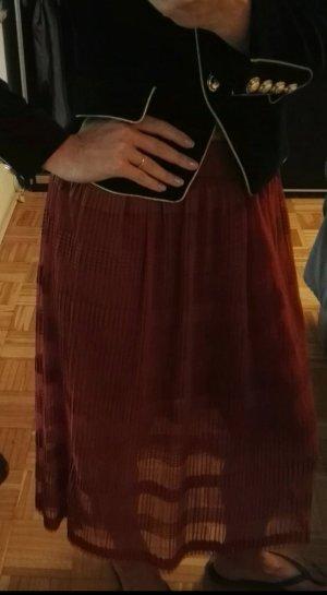 Vero Moda Falda larga multicolor tejido mezclado