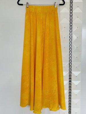 Maxi rok geel-goud Oranje