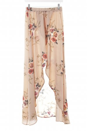 Maxi Skirt floral pattern romantic style