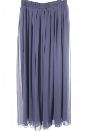 Falda larga gris pizarra-azul pálido Estilo años 90