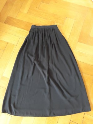 H&M Maxi rok donkerblauw Polyester
