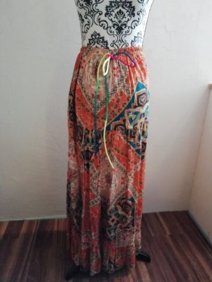 Made in Italy Maxi Skirt orange
