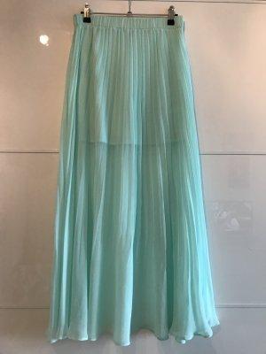 H&M Maxi Skirt mint-turquoise