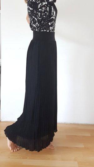 Silvian heach Maxi Skirt black