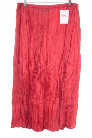 Maxi Skirt red casual look
