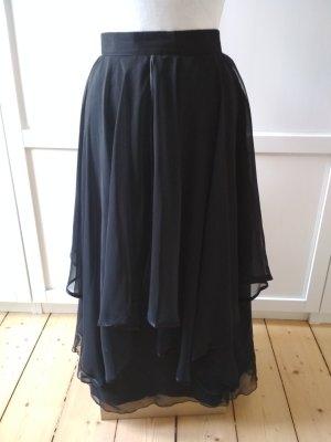 Maxi Skirt black polyester
