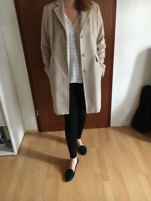 MaxMara Weekend Manteau en laine blanc cassé cachemire